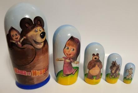"""Персонажи """"Маша и медведь"""""""