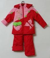 Куртка и полукомбинезон демисезонный Земляника