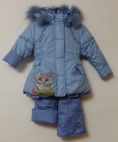 Куртка и полукомбинезон зимний Собачка