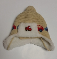 Шапка и шарф комплект зимний