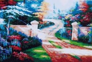 Картина на холсте Раскрась по номерам